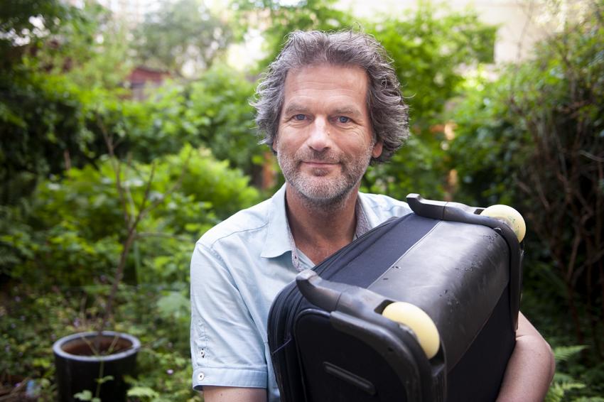 Johan Westera, initiatiefnemer Repair Café Jeltje