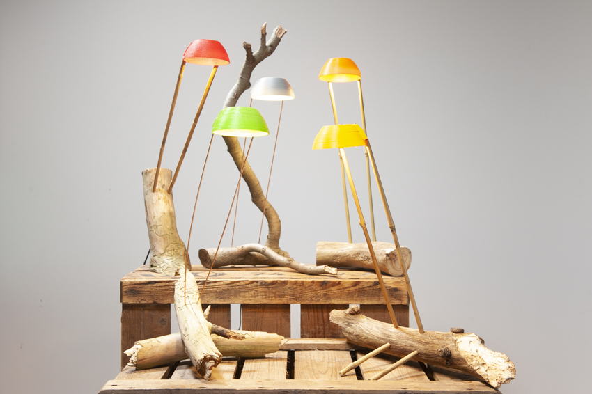 Takkenlamp! Geupcyclede LED-lampjes te koop