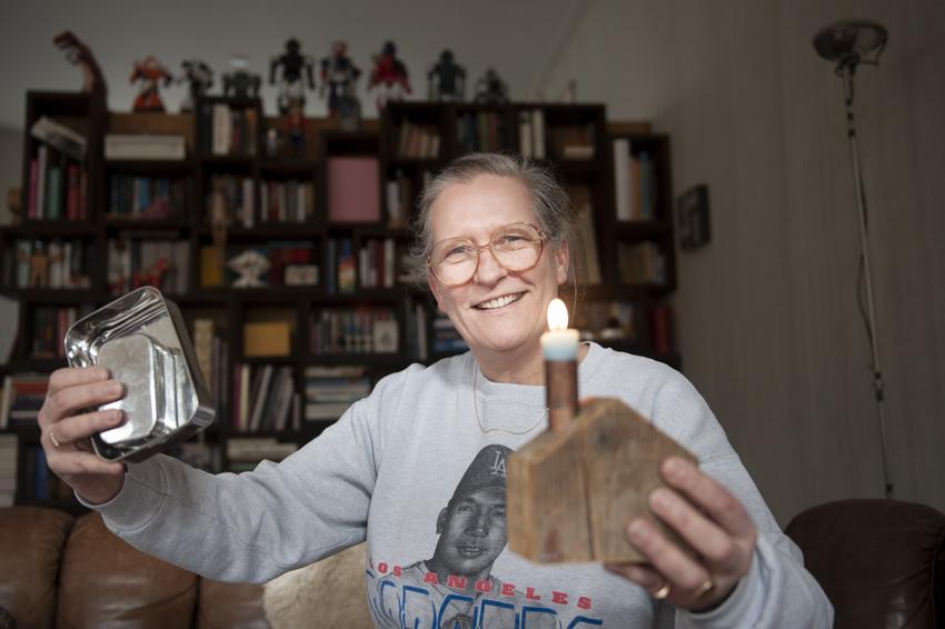 De visie en het reparatieplezier van gastvrouw Frances Kleipool
